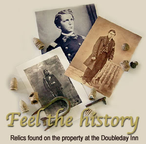 Feel the History at the DoubleDay Inn